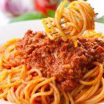 Mỳ Ý sốt cà chua bò