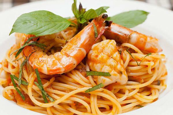 Cách nấu mỳ Ý sốt hải sản