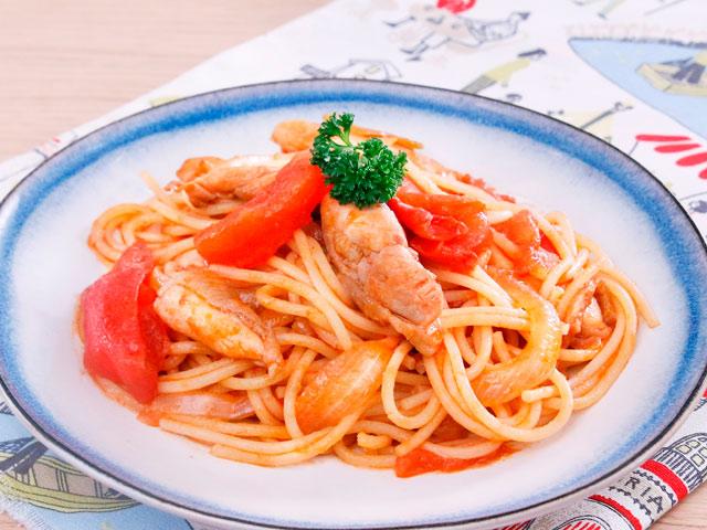 Cách nấu mỳ Ý xào thịt gà