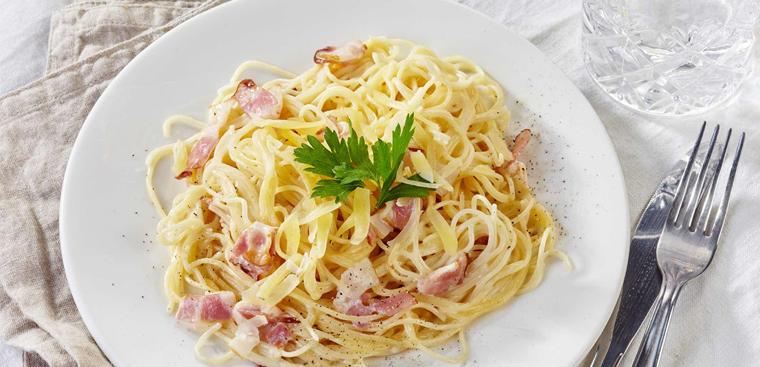 mỳ ý spaghetti carbonara